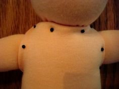 A great tutorial with pattern and very detailed finishing instructions on how to make a Waldorf doll.