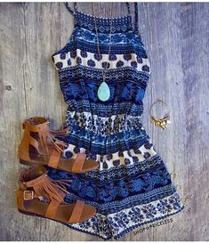 Love this Romper..perfect for any summertime gathering