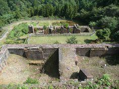 Besshi copper mine/ 別子銅山東平地区産業遺跡