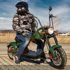 Scuter electric ELBONS Chopper 2kW 20Ah 45km/h Chopper, Electric Scooter, Motorcycle, Vehicles, Electric Moped Scooter, Biking, Motorcycles, Vehicle, Engine