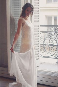 Robe de mariée Marie Laporte modèle Suzie
