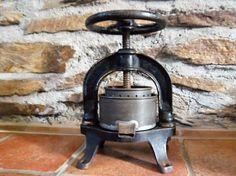 Vintage Fruit Press  Cast Iron  Kitchen Decor by HatteDesign