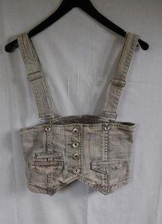 Kup mój przedmiot na #Vinted http://www.vinted.pl/kobiety/topy-koszulki-i-t-shirty-inne/4307918-kamizelka-szaro-bezowa-zapinana-na-szelkach