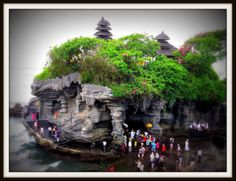 "Tanah Lot Temple This is the most famous Bali temple. It means ""Land in the Middle of the Sea,"" and is the work of the15th century priest Nirartha Tanah. Lot sits on a rock just off the coast. It's spectacular. Come near sunset and get some magnificent photos. There are villa accommodations nearby should you wish to stay in this area and explore."