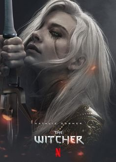 That awesome artist BossLogic shares a look at Natalie Dormer as Ciri for the Witcher TV series that Netflix is currently developing The Witcher Wild Hunt, The Witcher Game, The Witcher Geralt, Witcher Art, Fantasy Warrior, Fantasy Art, Fantasy Characters, Female Characters, Witcher Wallpaper
