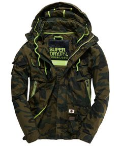 Shop for men's jackets at Superdry. Choose from leather jackets, coats, bomber jackets, parkas and sports jackets with free delivery and returns. Men's Coats And Jackets, Cool Jackets, Winter Jackets, Superdry Jacket Men, Mens Athletic Fashion, Sport Mode, Gents Fashion, Tactical Clothing, Mens Clothing Styles