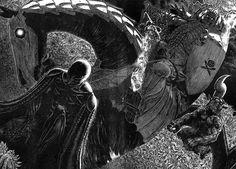 The art of Berserk - A look at the inspirational artwork of Kentaro Miura from the manga Berserk
