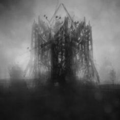 Klatka: By Szarada, more artworks https://www.artlimited.net/31389 #Processing #Manipulation #Nature #Animal #Bird