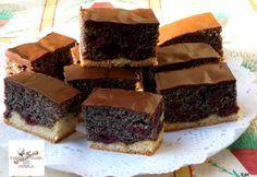 13 meggyes édesség, ami még a legelszántabb diétázót is elcsábítja! Cake Bars, Food And Drink, Pie, Sweets, Cookies, Baking, Recipes, Poppy, Minden