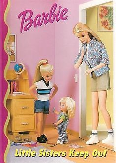 Barbie Little Sisters Keep Out