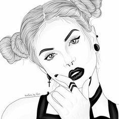 #adobedraw #adobe #draw #outlines #outline #black #white #blackandwhite