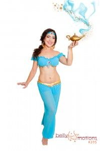 Miss Luisa of Belly Motions as Princess Jasmine