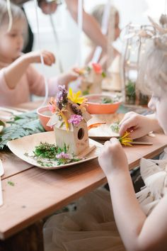 Enchanted Forest Party @DulcetCreative — mini style