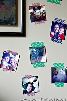 My Time Out Corner (Decorating Small Spaces) - Our Fifth House Instagram Prints, Photo Instagram, Birthday Money, Quick And Easy Crafts, Thanks For The Gift, Chalk It Up, Decorating Small Spaces, Washi Tape, No Time For Me