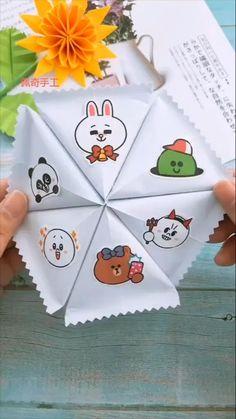 Cool Paper Crafts, Paper Crafts Origami, Fun Crafts, Crafts For Kids, Kids Diy, Diy Crafts Hacks, Diy Crafts For Gifts, Diy Crafts Videos, Instruções Origami