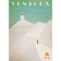 Chris Froome climbs Mont Ventoux alone in a poster recreating the events of stage 15 of this year's Tour de France. The poster was created by Bruce Doscher and is available from his website.