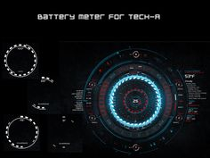 Battery Meter for TECH-A by ~pointed-arrow on deviantART