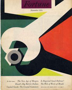 November 1954 - Fortune cover by Walter Allner