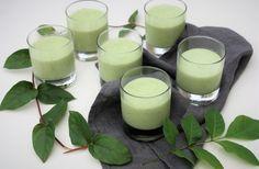 Rafraîchissez-vous avec les mousses à la chlorophylle de Géraldine (vegan)