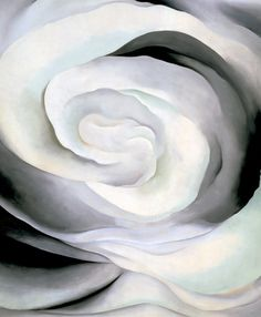 Georgia O'Keeffe  'Abstraction White Rose'  1927  Oil on canvas, 36 x 30 in. (91.4 x 76.2 cm)  Georgia O'Keeffe Museum, Santa Fe, New Mexico