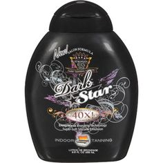 European Gold Dark Star 40x Ultra Dark Formula Tanning Lotion, 8.5 oz ~~ I bought this at Wal-Mart & I must say that it actually does work very well in the tanning bed & is WAY cheaper than the lotions sold in the tanning salons. :) :) :)