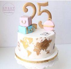 New Birthday Cake Decorating Guys 67 Ideas 25th Birthday Cakes, Birthday Cake For Him, 21st Cake, Adult Birthday Cakes, Friends Birthday Cake, Birthday Ideas, Pretty Cakes, Cute Cakes, Beautiful Cakes