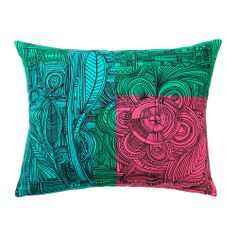 "EIVOR cushion, multicolor Length: 16 "" Width: 20 "" Filling weight: 11 oz Length: 40 cm Width: 50 cm Filling weight: 320 g Cushions Ikea, Cute Cushions, Cushion Covers, Throw Pillow Covers, Throw Pillows, Cottage Living Rooms, Home Living, Furniture Covers, Ikea Furniture"