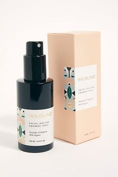 Wildling Empress Tonic - Face Tonic - Beauty and Wellness - Wildling - Free People Gua Sha, Graphisches Design, Label Design, Package Design, Cover Design, Graphic Design, Beauty Packaging, Cosmetic Packaging, Organic Skin Care