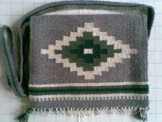 Weaving - Szőttes gyapjú tarisznya - Weaved bag - Zentai Anna - www.zentaianna.hu
