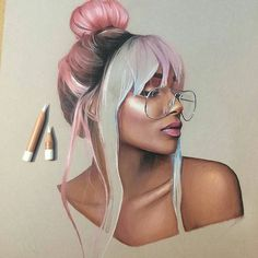 WANT A SHOUTOUT ? CLICK LINK IN MY PROFILE !!! Tag #DRKYSELA Repost from @ennife well. It's almost time to order more white pencils. #carandacheluminance #wip @nyanelebajoa #coloredpencil #highlightonfleek #nyanelebajoa via http://instagram.com/zbynekkysela