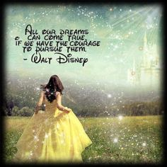 This would be an awesome photo shoot idea! Dressed like a Disney Princess, without showing your face.