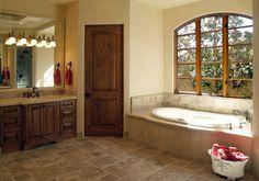Mediterranean Bathroom Design, Pictures, Remodel, Decor and Ideas - page 5 Master Bath Tile, Bath Tiles, Bathroom Floor Tiles, Tile Floor, Tub Tile, Travertine Bathroom, Travertine Floors, Stone Bathroom, Mediterranean Bathroom