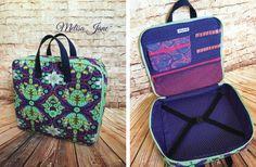 Sew Sweetness Amethyst Project Bag, sewn by Melisa Jane Handmade