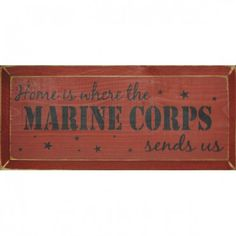 MILITARY SIGNS: SGT GRIT Marine Specialties www.operationwearehere.com/deploymentproducts.html