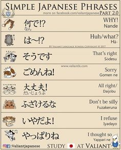 Simple everyday Japanese phrases 2.0