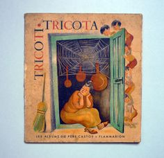My Vintage Avenue !!! 50's and 60's illustrations !!!: Tricoti Tricota illustrated by Françoise Themerson...