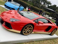 Lamborghini Aventador or Huracan?  Why choose take both! I took the pic during the 2016 Pebble Beach Concurs de elegance event.  #autos  #cars  #sportscars  #racecars  #exoticcar  #pebblebeach2016  #MontereyCarWeek #pebblebeachconcoursdelegance  #concours  #montereycarweek2016  #lamborghini  #huracan  #aventador  #showcar #carshow  #motorsport #lamborghiniaventador