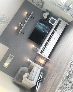 Best Country Home Exterior Design Living Room Decor Cozy, New Living Room, Home And Living, Bedroom Decor, Living Room Inspiration, Home Decor Inspiration, Apartment Living, Living Room Designs, Interior Design