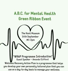Wrap Program, Wellness Recovery Action Plan, Green Ribbon, How To Plan