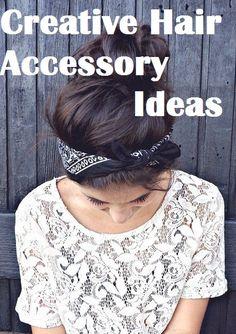 creative clothing ideas | My Fashion Chronicles – Creative Hair Accessory Ideas