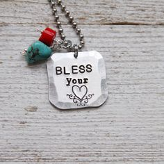 Love this necklace, a typical SOUTHERN saying :)