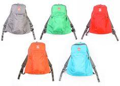jansport ski & hike backpack red