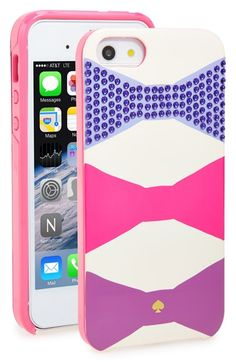 kate+spade+new+york+'oversized+bow'+iPhone+5+&+5s+case+available+at+#Nordstrom