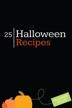 25 Favorite Halloween Recipes from www.inspiredtaste.net #halloween #recipe Halloween Sweets, Halloween Drinks, Holidays Halloween, Happy Halloween, Halloween Party, Halloween Decorations, Halloween Ideas, Halloween Foods, Scary Food