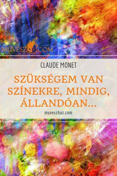 Claude Monet, Art Quotes, Thoughts, Drawings, Painting, Painting Art, Sketches, Paintings, Drawing