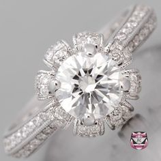 Art Deco Engagement Ring by taaylajade