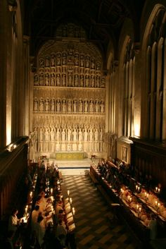 New College Chapel - Oxford