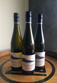 Our first 2015 wine is finally in stores! The Mount Riley Riesling has always been one of our more successful wines in Wine Shows across the globe for several years now and we don't expect 2015 to be any different.  Citrus, stone fruit and floral notes with loads of juicy acidity and a dry finish. Delicious drop, perfect for those fast approaching spring days