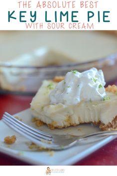 This Florida key lime pie recipe has sweet milk & key limes for a true key lime pie Key West version. Florida Key Lime Pie Recipe, Fun Desserts, Dessert Recipes, Delicious Desserts, Best Key Lime Pie, Key Lime Juice, Keylime Pie Recipe, Good Pie, No Bake Pies