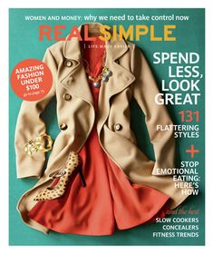 See what was in the September 2012 issue of Real Simple.